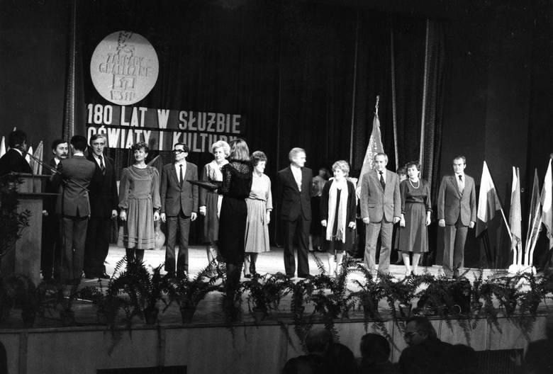 W 1986 r. Zakłady Graficzne Wydawnictw Szkolnych i Pedagogicznych świętowały 180-lecie.
