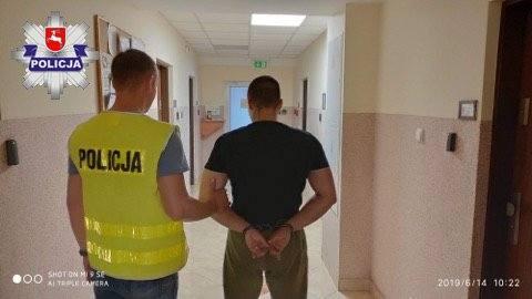 Substancje psychotropowe w gm. Piaski. 25-latek trafił do aresztu