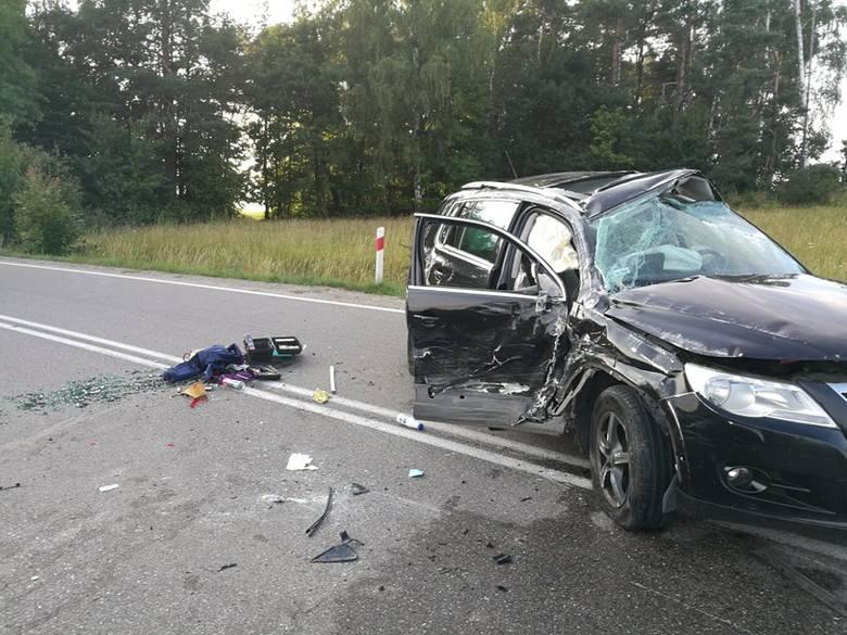 Groźny wypadek na skrzyżowaniu w Rokitach. Pięć osób rannych w tym dwójka dzieci. Dziś (13 lipca) wieczorem doszło do poważnego wypadku na skrzyżowaniu