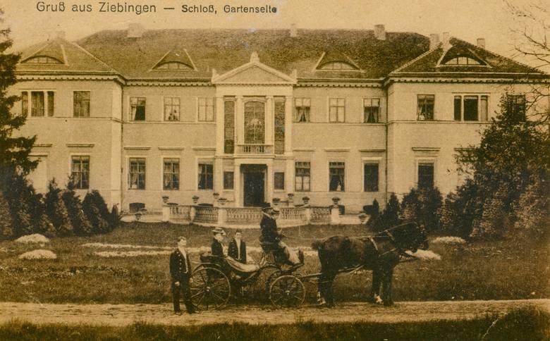 CybinkaJeszcze w latach 80. Stał tutaj klasycystyczny pałac otoczony malowniczym parkiem. W ostatnich miesiącach drugiej wojny światowej służył jako