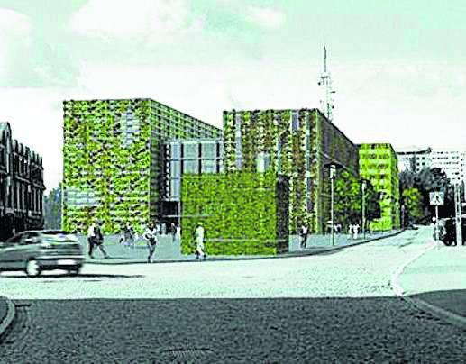 Tak miał wyglądać nowy budynek magistratu projektowany na Rynku Siennym