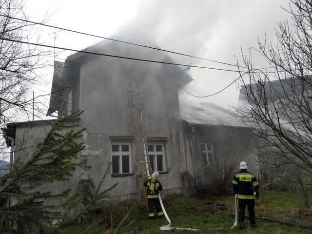 Pożar Ochorowiczówki w 2014 roku