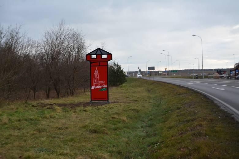 Nowe tablice informacyjne na wjeździe do Sulechowa