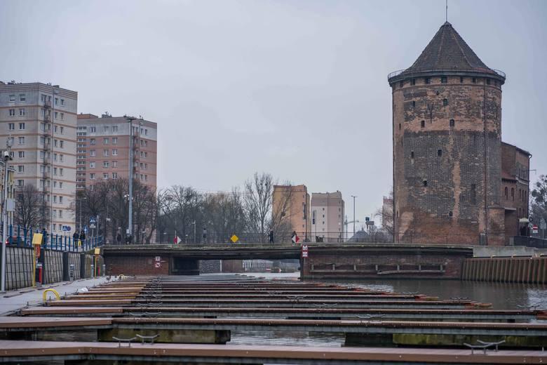 Przebudowa Mostu Stągiewnego na zwodzony będzie kosztowała 6,6 mln zł, inwestycja jest realizowana w ramach partnerstwa publiczno-prywatnego przez spółkę