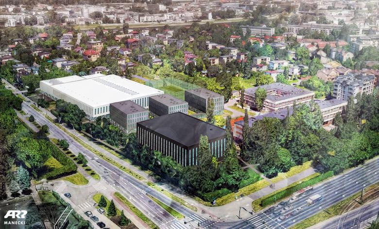 Władze Krakowa planują i szukają dofinansowania dla budowy 50-metrowego basenu olimpijskiego przy ul. Monte Cassino. Koszt inwestycji szacowany jest