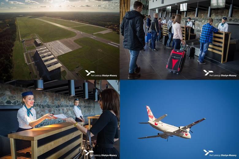 Lotnisko Olsztyn - Mazury. Pasażerowie szturmują regionalne lotnisko. Dobre wyniki portu lotniczego w Szymanach (zdjęcia)