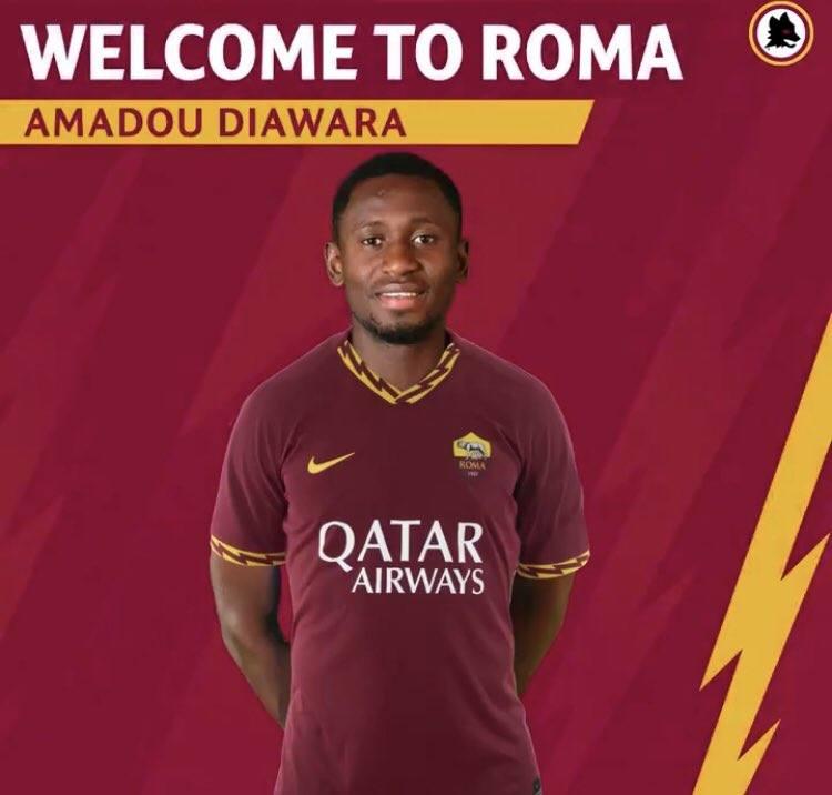 Roma też się wykosztowała. Dołączył do niej Amadou Diawara