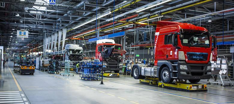 Fabryka MAN-a w Niepołomicach wznawia produkcję. Będzie skrócony czas pracy