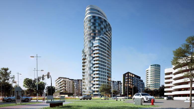 Już na czwartej kondygnacji pracuje wykonawca kolejnych części kompleksu mieszkaniowego Capital Towers w Rzeszowie. Mamy najnowsze wizualizacje powstających