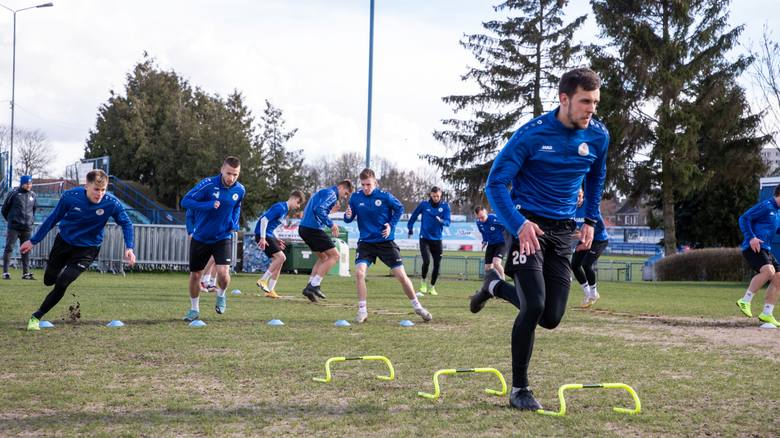 Błękitni Stargard walczą o utrzymanie w II lidze. Zobacz, jak trenują. ZDJĘCIA