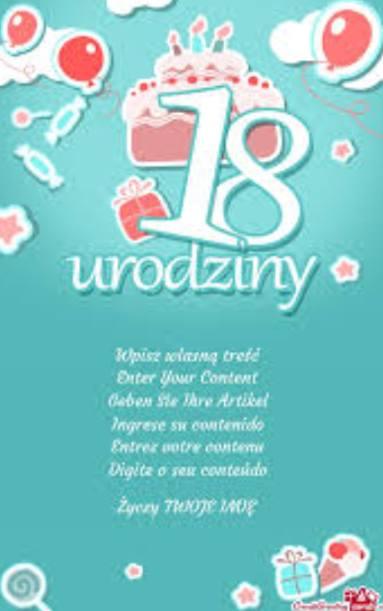 życzenia Na Osiemnastkę śmieszne życzenia Na 18 Urodziny