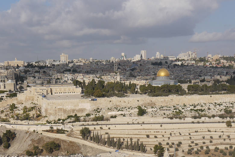 Miejsca męki i śmierci Chrystusa w Jerozolimie [zdjęcia]