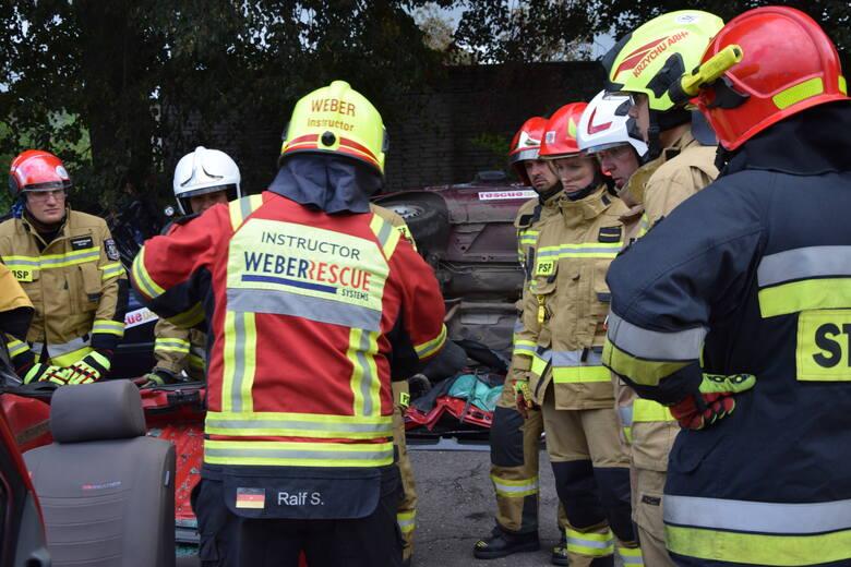 Trzystu strażaków bierze udział w Rescue Days Skwierzyna 2021
