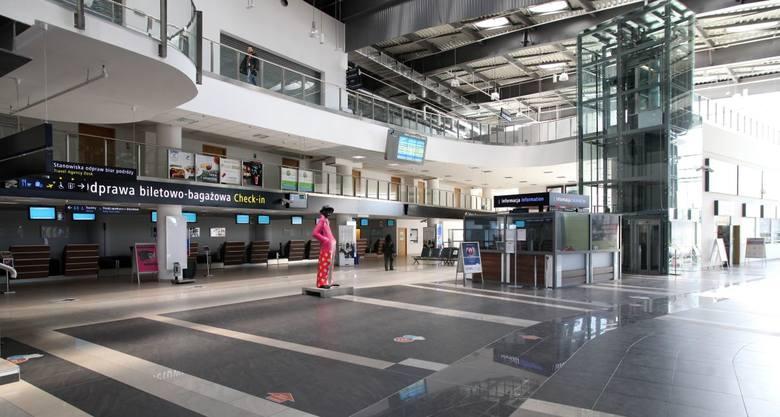 W ubiegłym roku łódzkie lotnisko odnotowało nieco ponad 47 mln zł straty. Obsłużyło w tym czasie zaledwie 241 tys. 271 pasażerów.