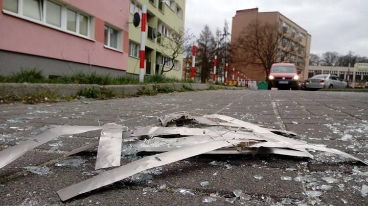 Do wybuchu gazu doszło w bloku przy ul. Wiśniowej 26 w Zielonej Górze