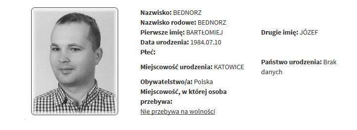 Rejestr pedofilów i gwałcicieli. Przestępcy seksualni z województwa śląskiego ujawnieni. Bartłomiej Bednorz, KatowicePrzeglądaj kolejne slajdyREJESTR