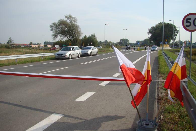 Pierwsza część obwodnicy Proszowic została otwarta w 2011 roku