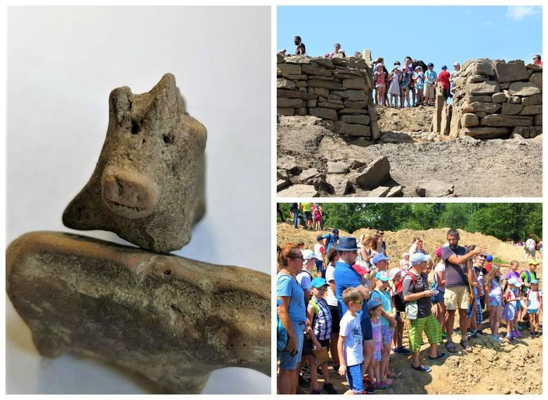 Kolejne odkrycia  archeologiczne w Maszkowicach. Figurki mają ponad 3,5 tysiące lat [ZDJĘCIA]