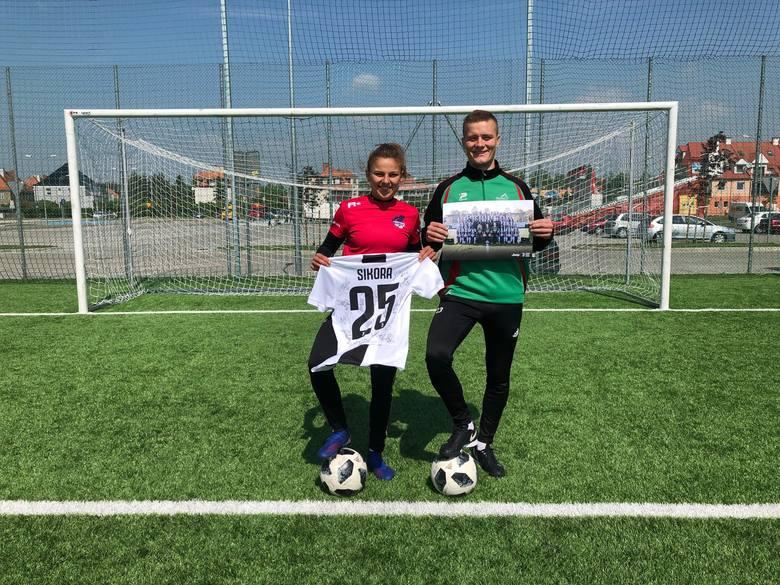 Alan Majerski niedawno miał w Nysie okazję do wspólnego potrenowania z Aleksandrą Sikorą, piłkarką reprezentacji Polski i włoskiego Juventusu Turyn.