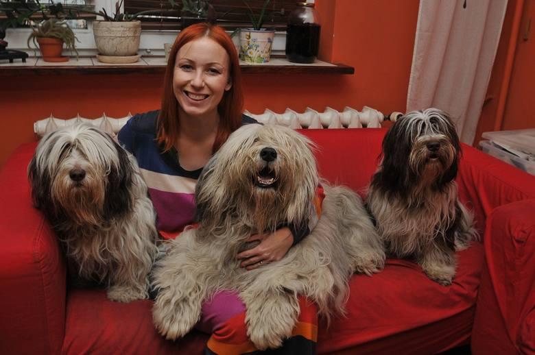 Joanna Pielin-Kaczmarek odchowała już z mężem jeden miot. Obecnie ma trzy swoje psy