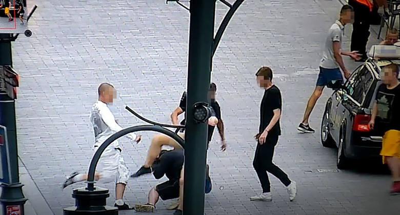 Bandycki napad na taksówkarza