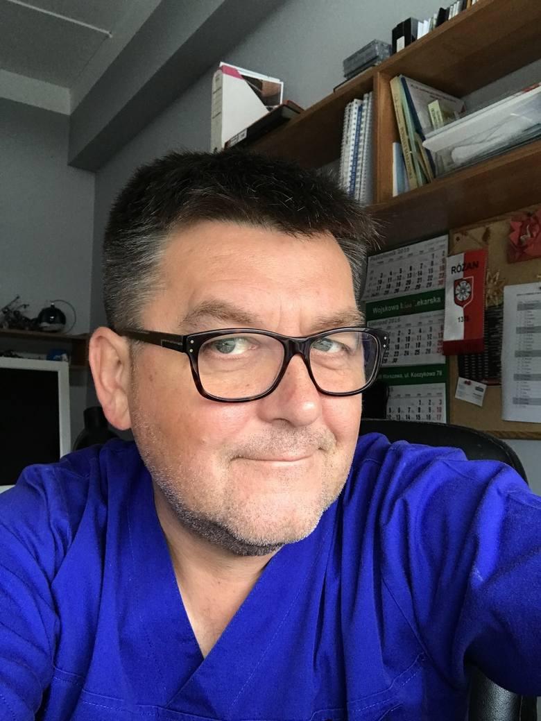 Dr Wojciech Cejmer w makowskim szpitalu pracuje od 9 lat