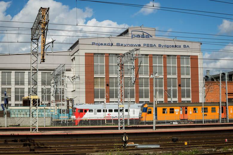 PESA jest spadkobiercą tradycji bydgoskich Zakładów Naprawczych Taboru Kolejowego i drugim pod względem zatrudnienia pracodawcą w mieście.