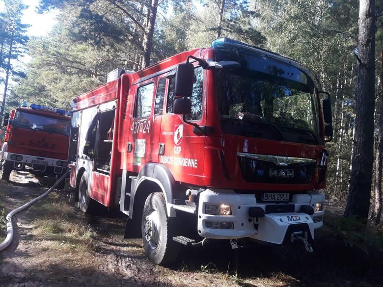 To były pracowite dni dla strażaków z OSP Dubicze Cerkiewne. W czwartek ratownicy gasili pożar lasu i ścierniska w okolicy Dubicz. Następnego dnia jednostka