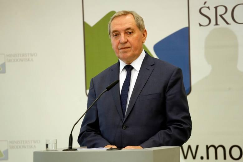 Henryk Kowalczyk, minister środowiska