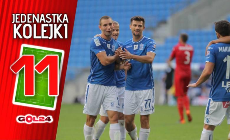 Jedenastka 4. kolejki Lotto Ekstraklasy według GOL24 [GALERIA]