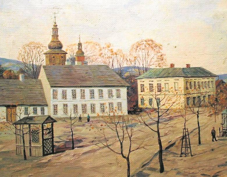 Limanowski malarz, którego obraz ostatnio stał się głośny w mediach