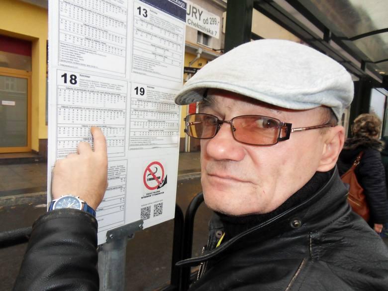 1 lutego wejdą w życie nowe rozkłady jazdy. Jacek Sztolin: - Trzeba będzie się przyzwyczaić.