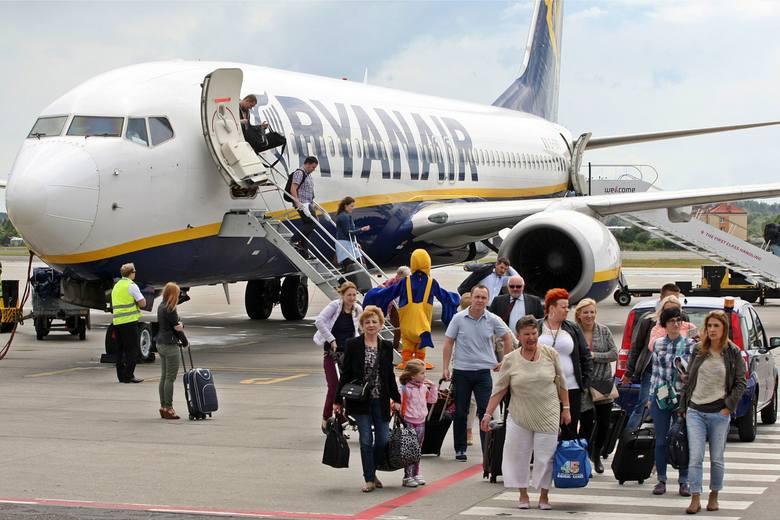 Greckie wyspy, Hiszpania, Turcja, Włochy i Bułgaria - tam najchętniej lataliśmy w wakacyjnych miesiącach z wrocławskiego lotniska podczas minionych wakacji.