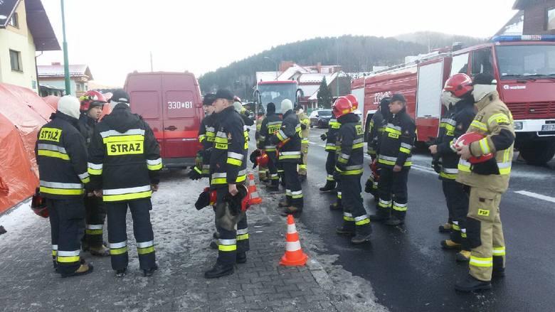 Wybuch gazu w Szczyrku. Nie żyje osiem osób