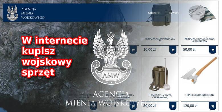 To dobre wieści dla wszystkich, którzy myślą o zakupach w Agencji Mienia Wojskowego. Od dziś można je zrobić bez wychodzenia z domu. Wystarczy tylko