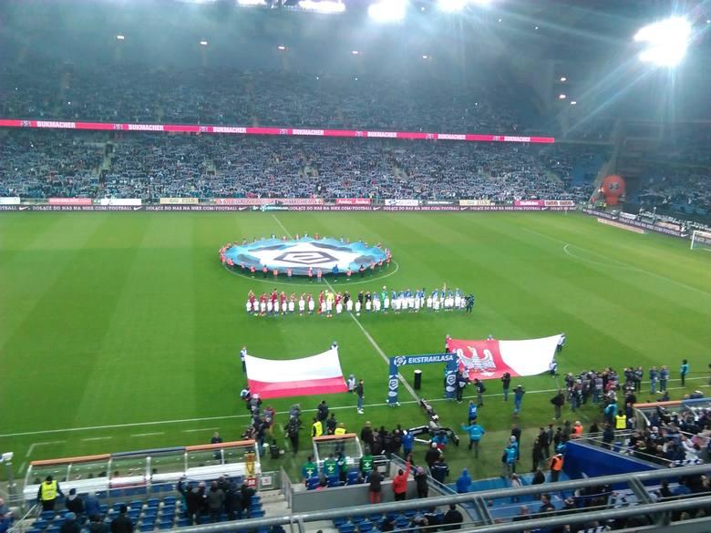 16.10.2016 poznan gd lech poznan wisla krakow stadion lech. glos wielkopolski. fot. grzegorz dembinski/polska press