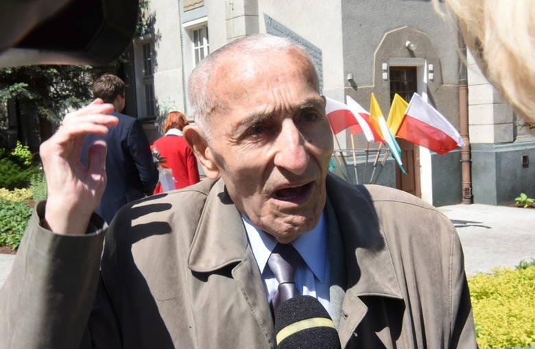 2019 r. Krzysztof Donabidowicz podczas uroczystości z okazji 59. rocznicy Wydarzeń Zielonogórskich
