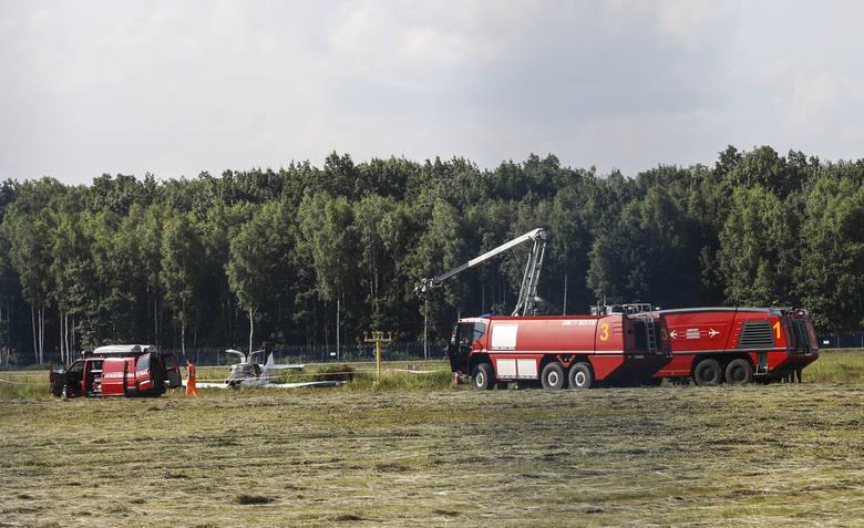 Na lotnisku w podrzeszowskiej Jasionce rozbiła się awionetka. Ranne zostały trzy osoby. Lotnisko było zamknięte, przed godz. 17 ruch został przywróc