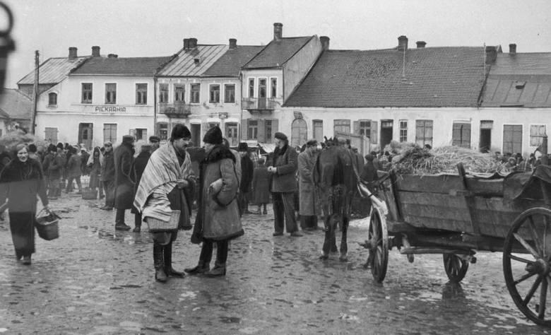 Jesień 1942 roku - Przysuski rynek
