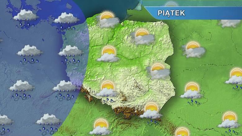 Pogoda w Szczecinie i regionie. Piątek chłodny i deszczowy, a weekend? [wideo]