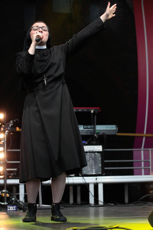 Siostra Cristina Scuccia, Sound'n'Grace, Barbara Kurdej-Szatan i Rafał Szatan wystąpili dla opolskiej katedry.