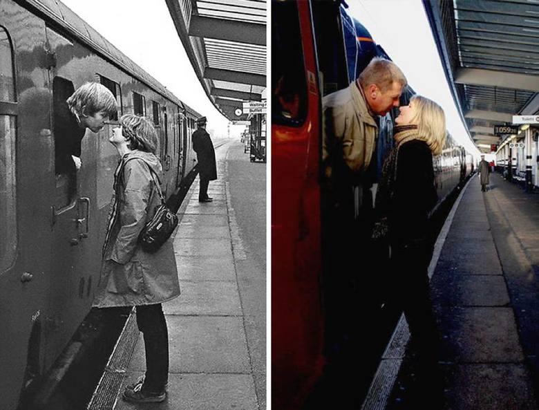 Chris Porsz, uliczny fotograf z Wielkiej Brytanii, postanowił wyśledzić po 30, a czasem nawet 40 latach, bohaterów swoich starych zdjęć i zrobić im niemal
