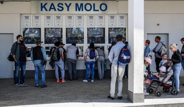Bilety na Molo obowiązują od 28 kwietnia do 30 września