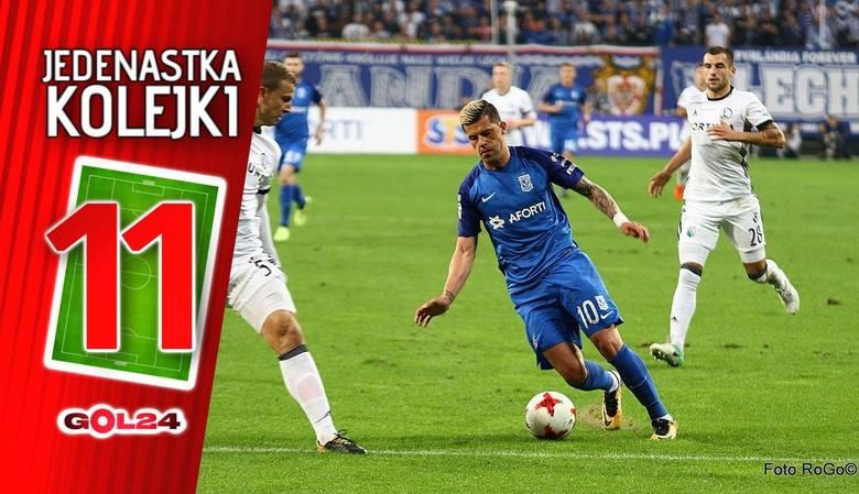 Jedenastka 11. kolejki Lotto Ekstraklasy według GOL24 [GALERIA]