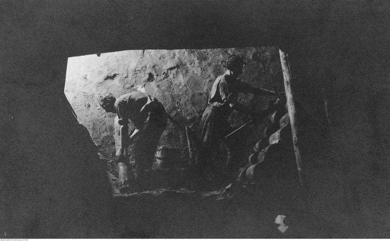 Kopalnia węgla w Czechosłowacji. 1925-38.