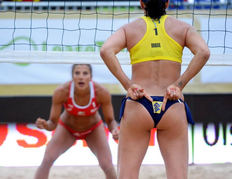 Ci, którzy twierdzą, że siatkówka plażowa pań jest najpiękniejszym sportem na świecie, zapewne mają sporo racji. Zawodniczki i czirliderki towarzyszące