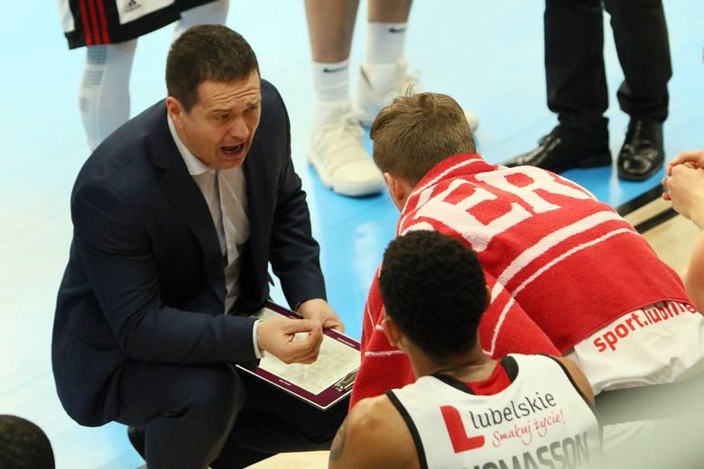 David Dedek (trener TBV Startu Lublin): Większość naszych zawodników nie odgrywała wielkich ról. To dla nas dobra szkoła