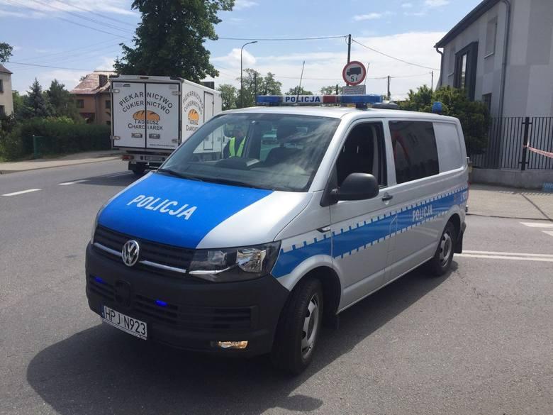 Strzały padły przy komisariacie na ulicy Cmentarnej w Opolu.