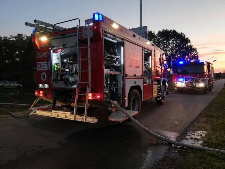 W akcji brały udział 2 zastępy OSP Wąsewo oraz 2 JRG Ostrów Mazowiecka.