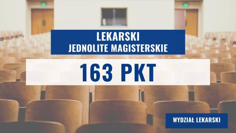 Na kolejnych slajdach prezentujemy progi punktowe na najpopularniejszych kierunkach Gdańskiego Uniwersytetu Medycznego 2020 >>>